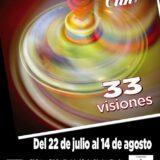 """Cartel exposición """"33 Visiones"""" El Clik -Daroca - Zaragoza - Miguel Sanza"""