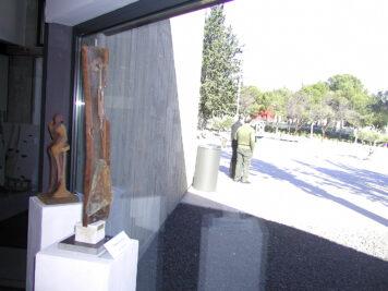 Tension pendular. Escultura - Miguel Sanza