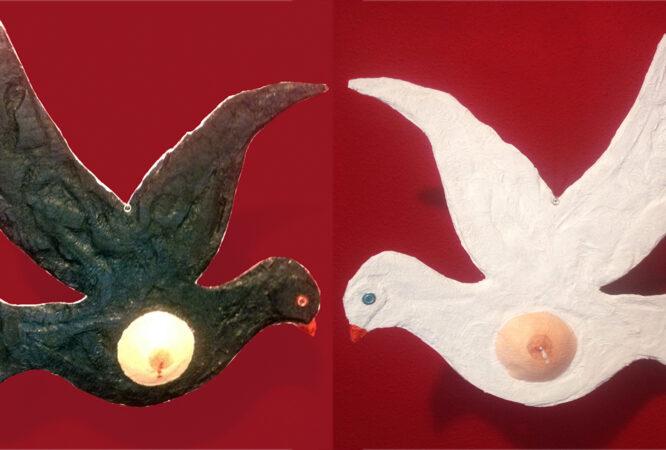 palomas al vuelo
