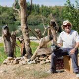 Esperando a la riada - Escultura - Miguel Sanza